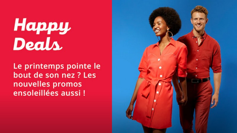 Revoilà les Happy Deals Zalando version printemps