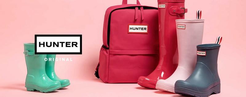 Vente privée Hunter : bottes et vêtements de pluie