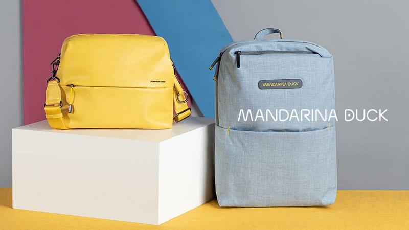 Vente privée Mandarina Duck : des sacs et bagages pratiques et colorés